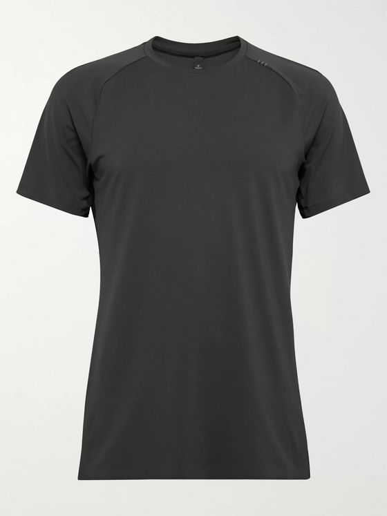 Lululemon Slim-Fit Muscle Motion Mesh T-Shirt