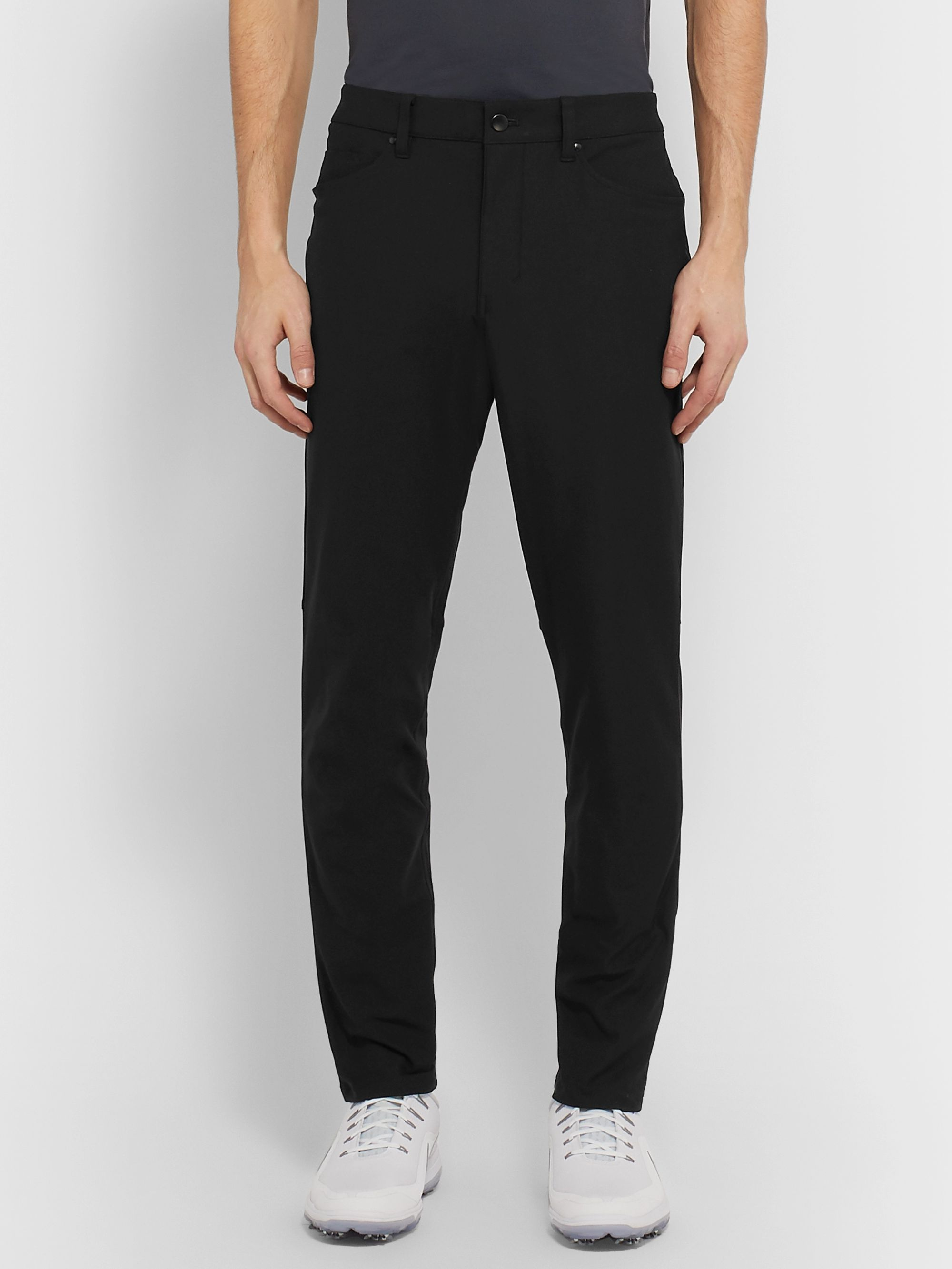 Lululemon Black ABC Warpstreme Trousers