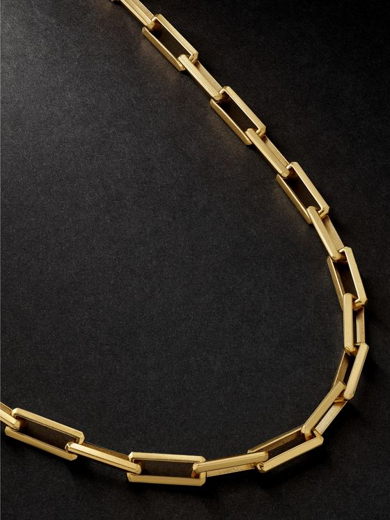 LUIS MORAIS 14-Karat Gold Necklace