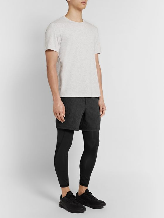 Lululemon Active Expert 2-in-1 Stretch-Shell and Jersey Tights