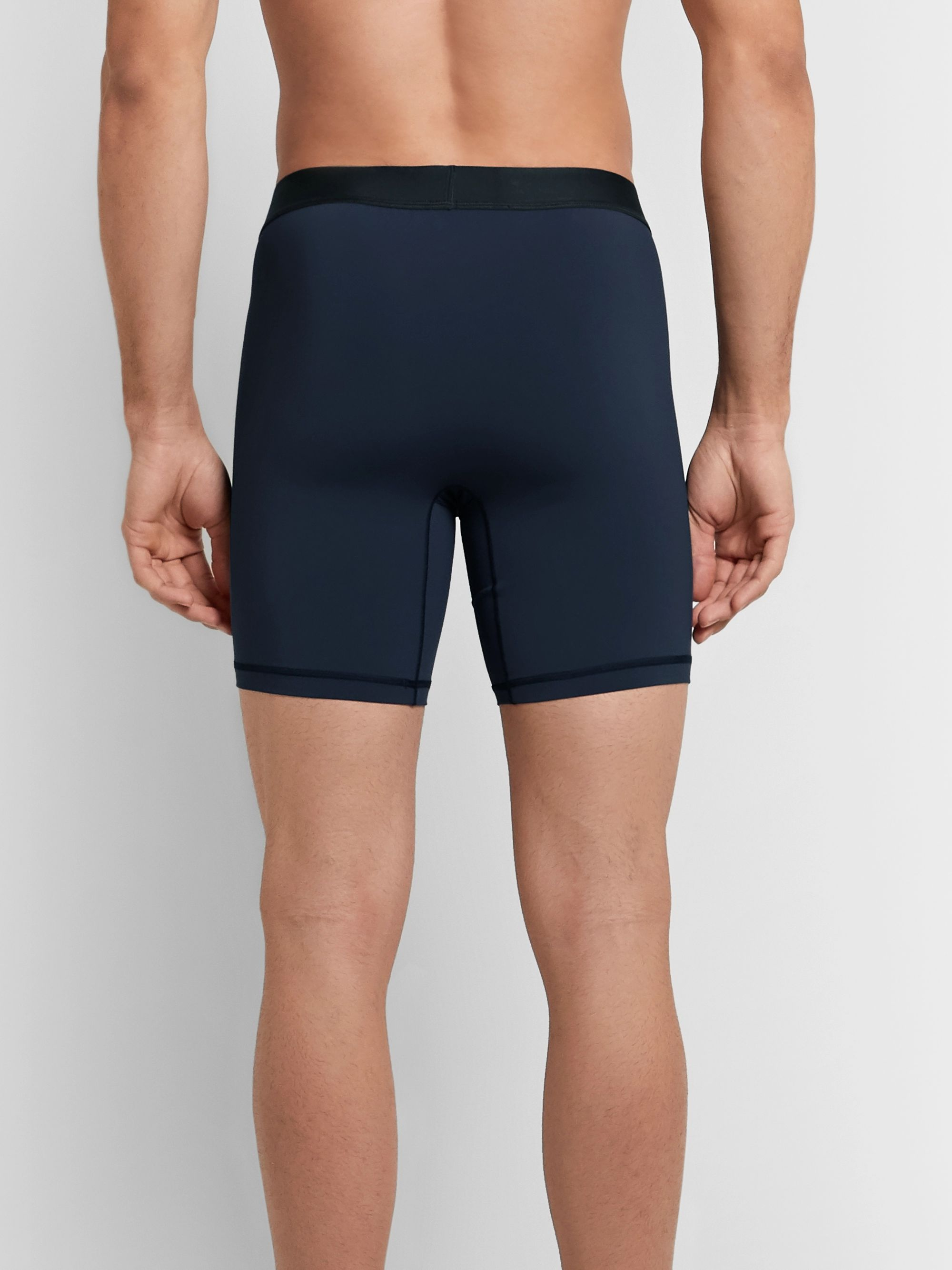 Lululemon License to Train Mesh-Panelled Light Luxtreme Boxer Briefs