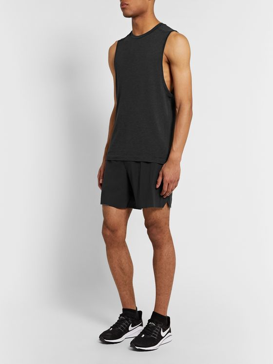Lululemon Metal Vent Tech 2.0 Mélange Stretch-Jersey Tank Top