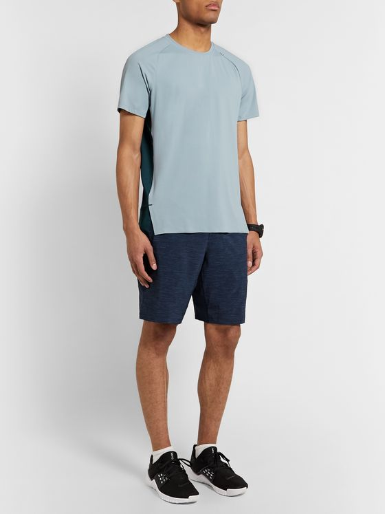 Lululemon Muscle Motion Colour-Block Mesh T-Shirt