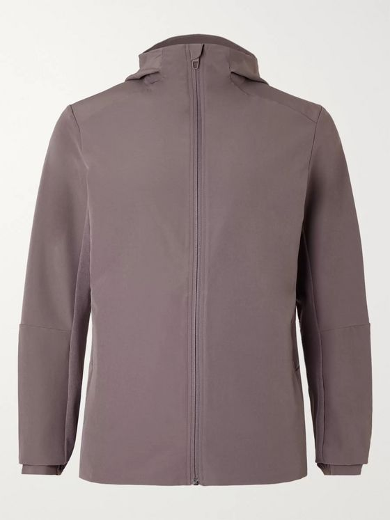 Lululemon Warp Lite Packable Stretch-Shell Hooded Jacket