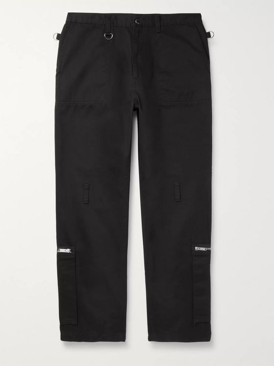 Undercover Zip-Detailed Cotton-Twill Trousers