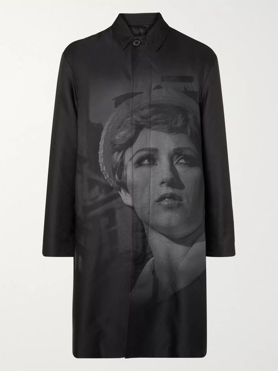 Undercover + Cindy Sherman Printed Shell Coat
