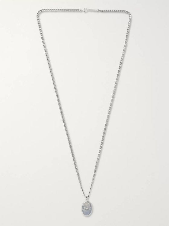 Miansai Burnished Silver Necklace