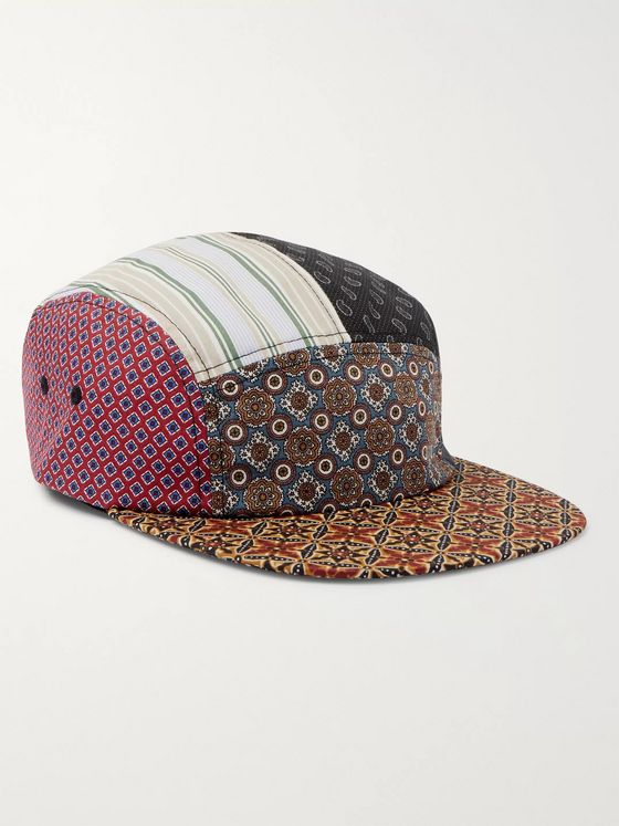 Beams Plus Patchwork Cotton Cap