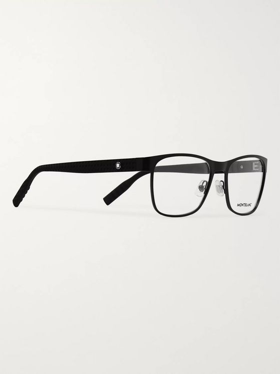 Montblanc D-Frame Metal Optical Glasses