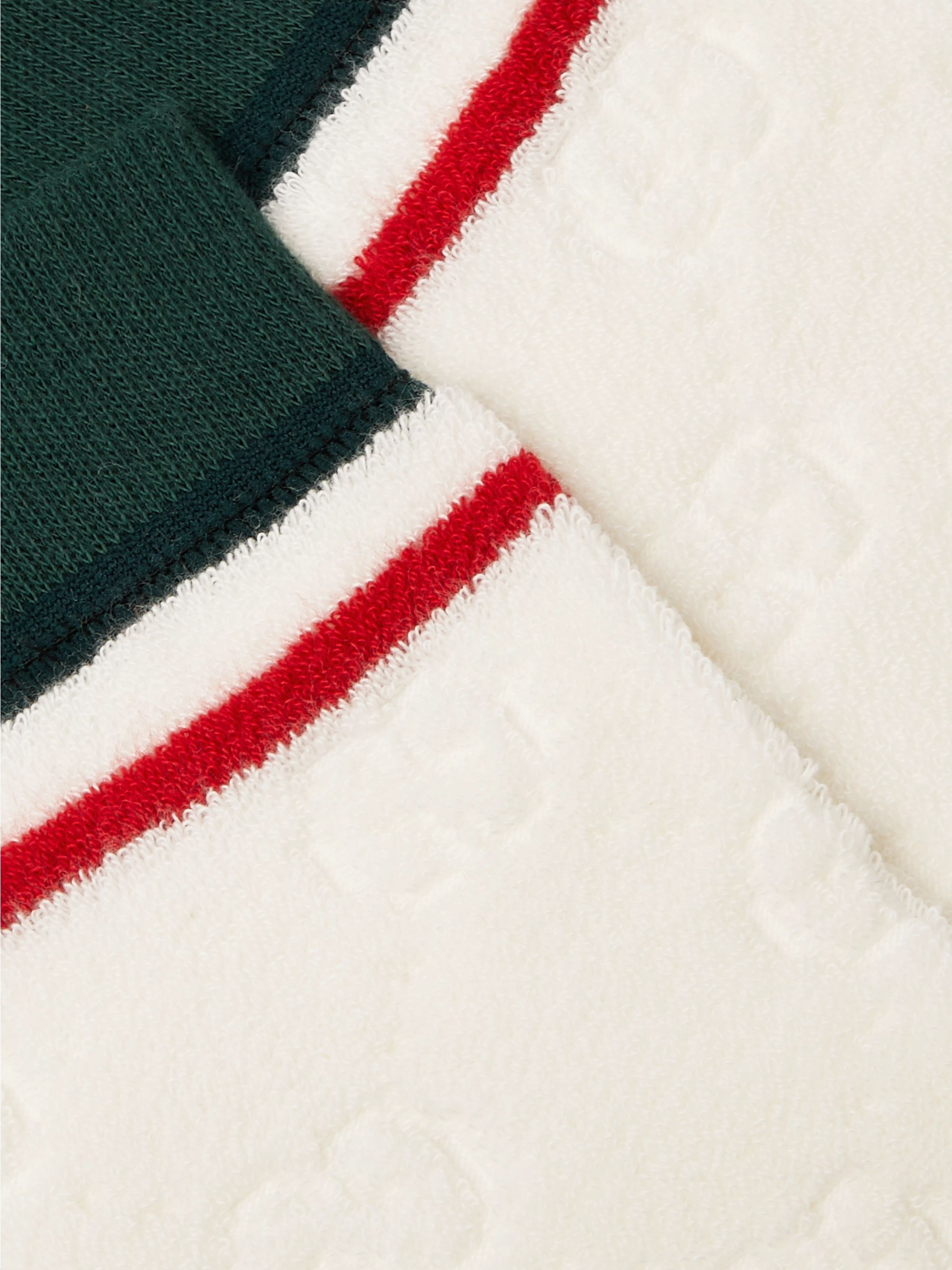 Gucci Striped Logo-Embossed Cotton-Blend Jacquard Socks