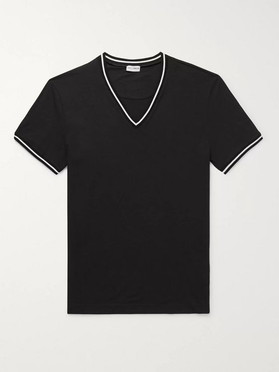 Dolce & Gabbana Stretch Cotton-Jersey T-Shirt