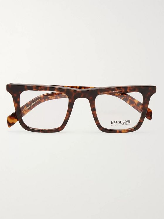 Native Sons Vincent Tortoiseshell Acetate Optical Glasses