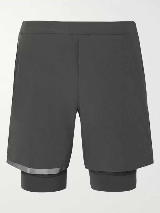 Lululemon Surge Stretch-Shell Running Shorts