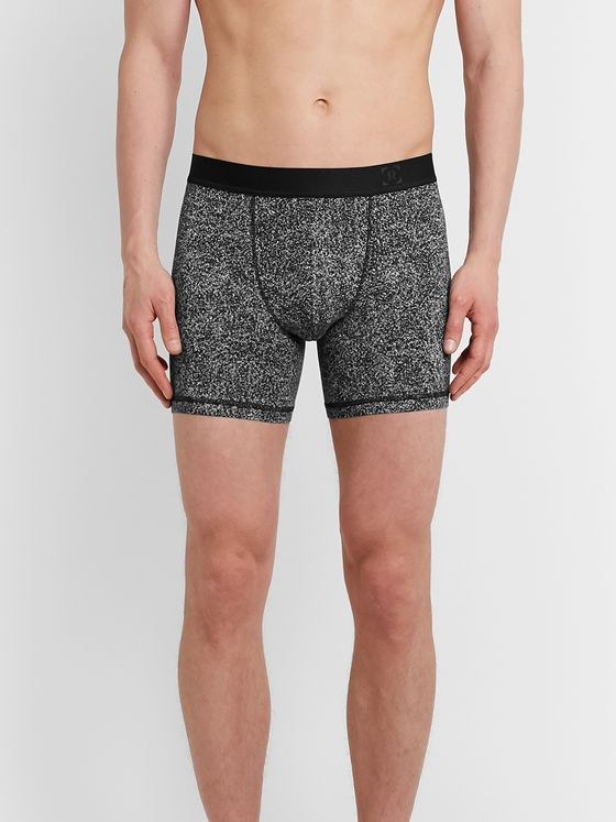 Lululemon Always in Motion Printed Stretch-Modal Boxer Briefs