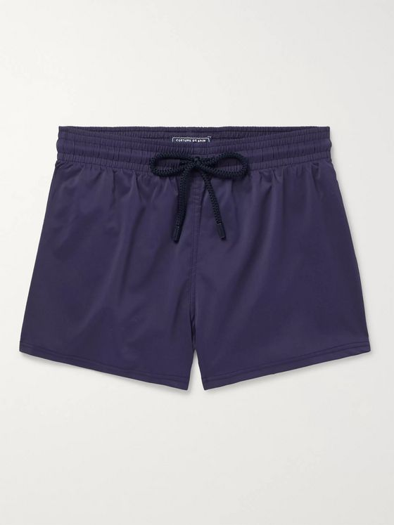 Vilebrequin Slim-Fit Short-Length Swim Shorts