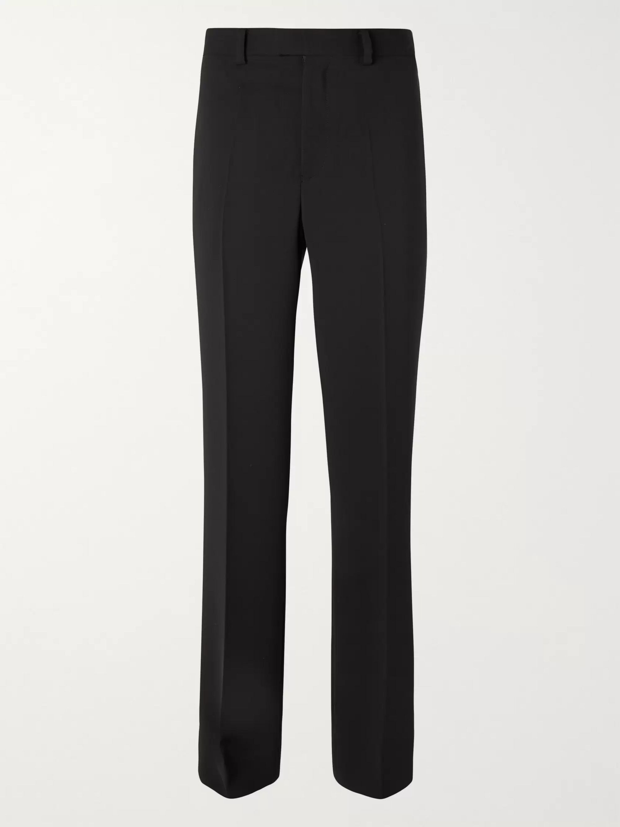 Undercover Black Flared Crepe Trousers