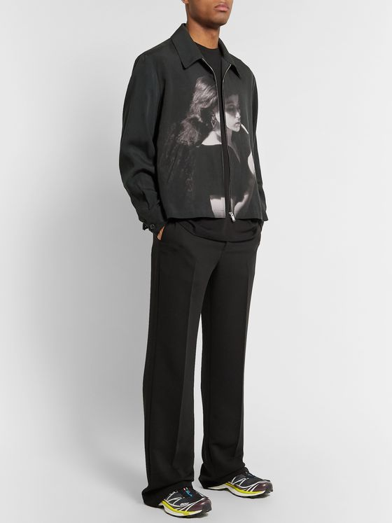 Undercover + Cindy Sherman Printed Tencel Jacket