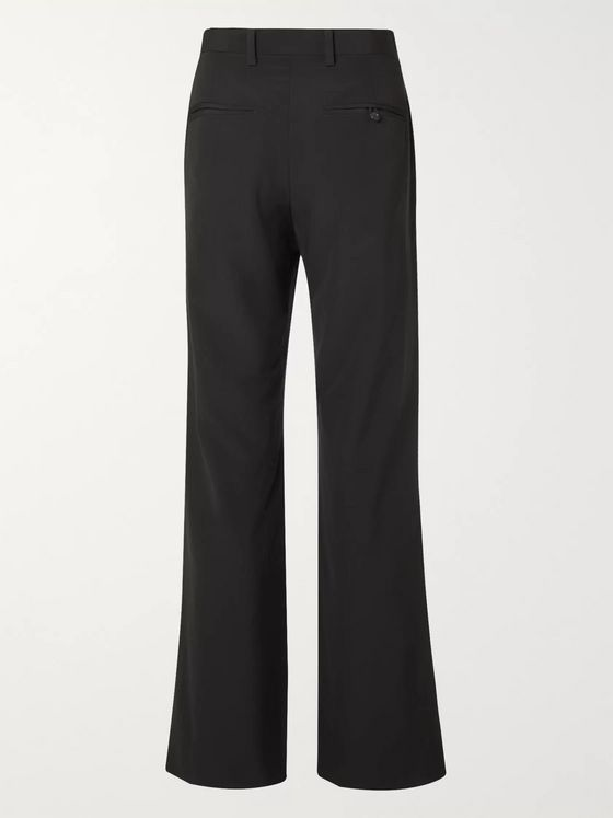 Undercover Patchwork Wool and Silk-Blend Trousers