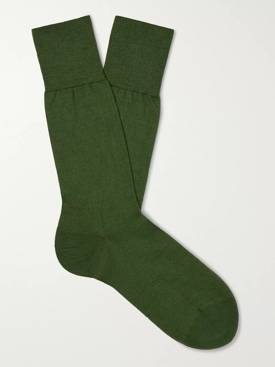 FALKE No 6 Merino Wool-Blend Socks