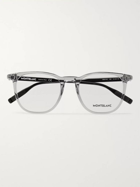 Montblanc Square-Frame Acetate Optical Glasses