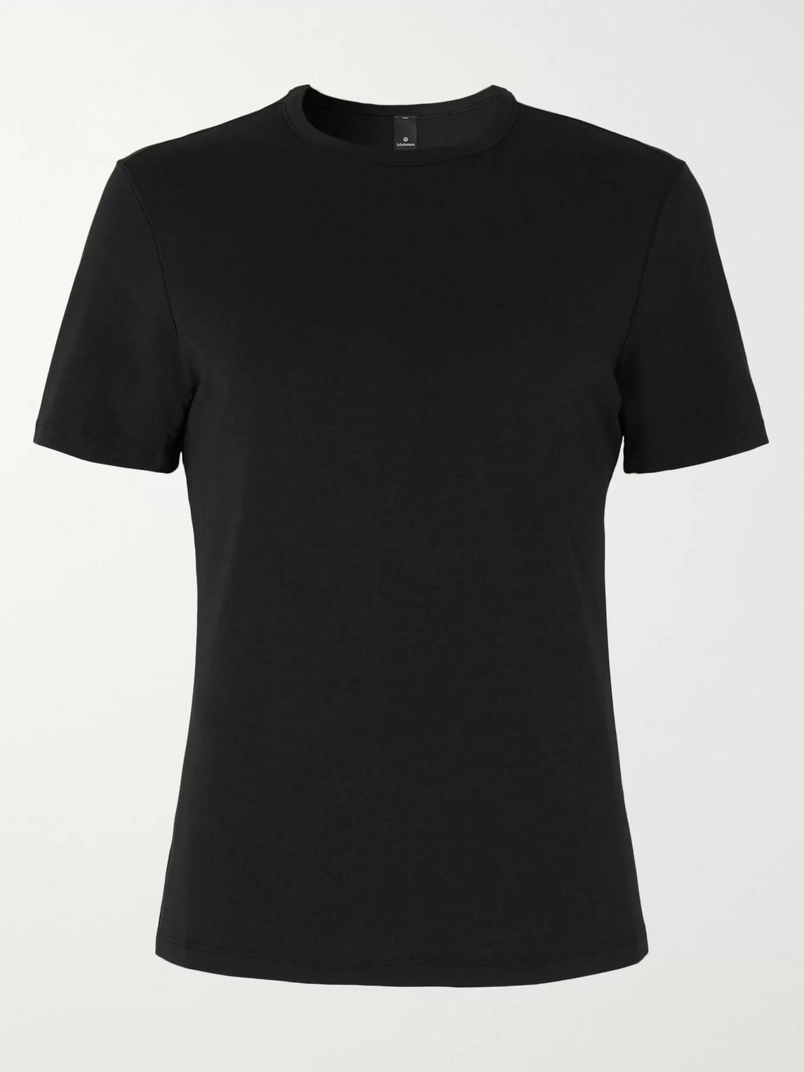 lululemon - 5-year basic vitasea t-shirt - men - black