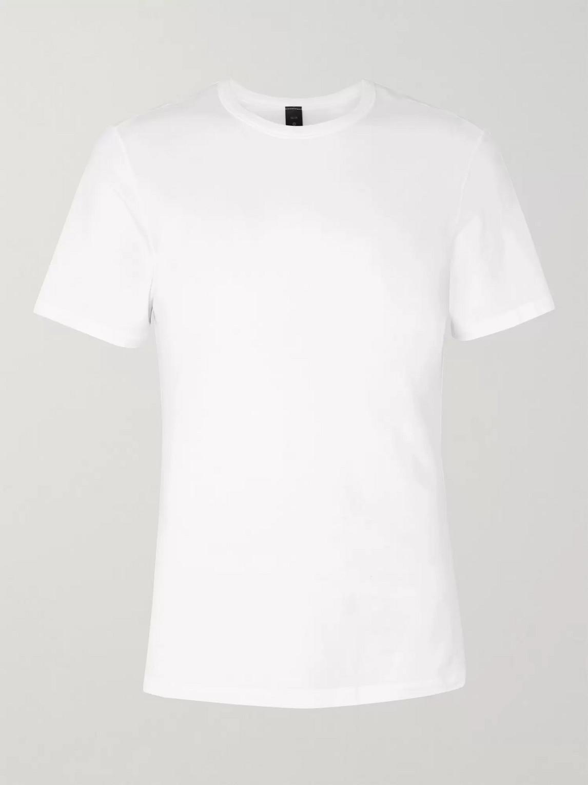 lululemon - 5-year basic vitasea t-shirt - men - white
