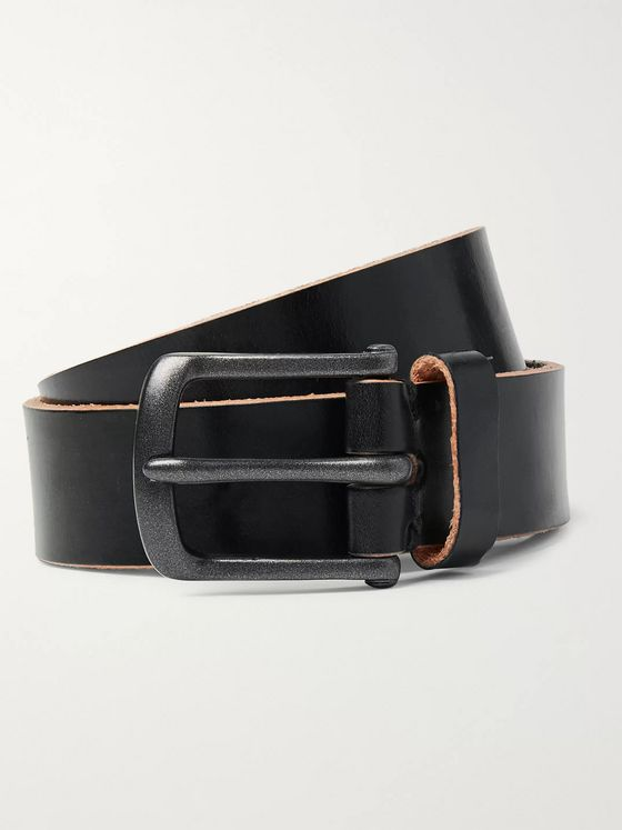 Oliver Spencer 3cm Barrow Leather Belt