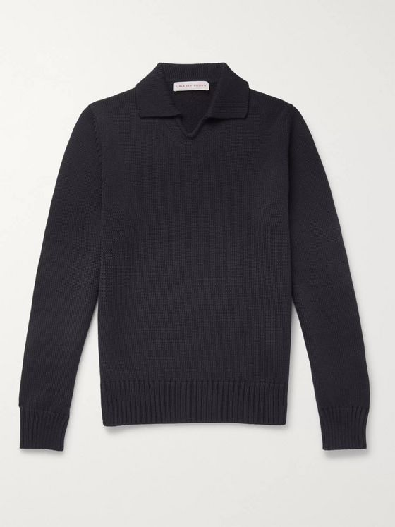 Orlebar Brown Hedley Slim-Fit Merino Wool Sweater
