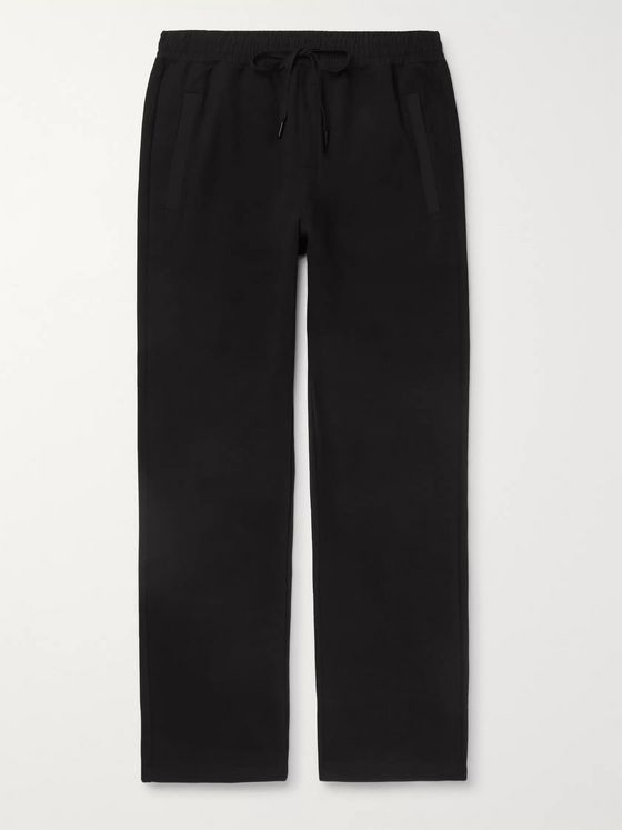 Calvin Klein Underwear Shell-Trimmed Cotton-Jersey Sweatpants