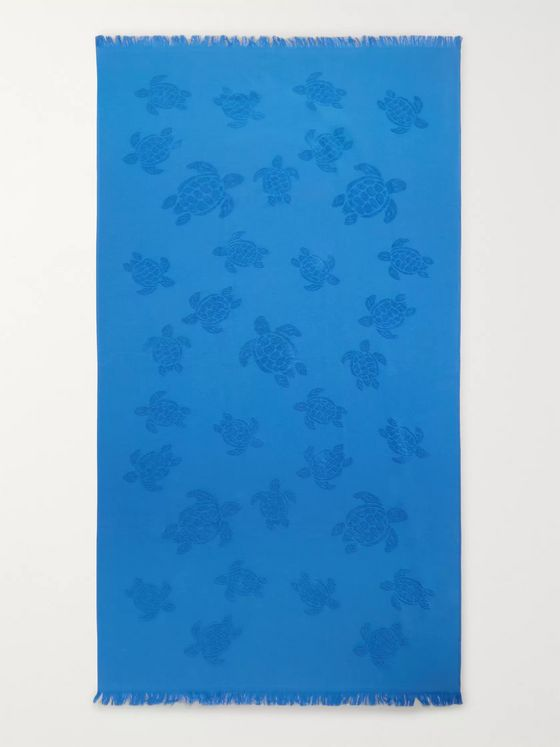 Vilebrequin Santah Cotton-Terry Beach Towel