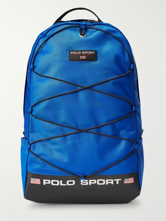 POLO RALPH LAUREN Sport Logo-Detailed Nylon Backpack