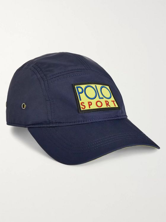 Polo Ralph Lauren Logo-Appliquéd Cotton-Twill Baseball Cap