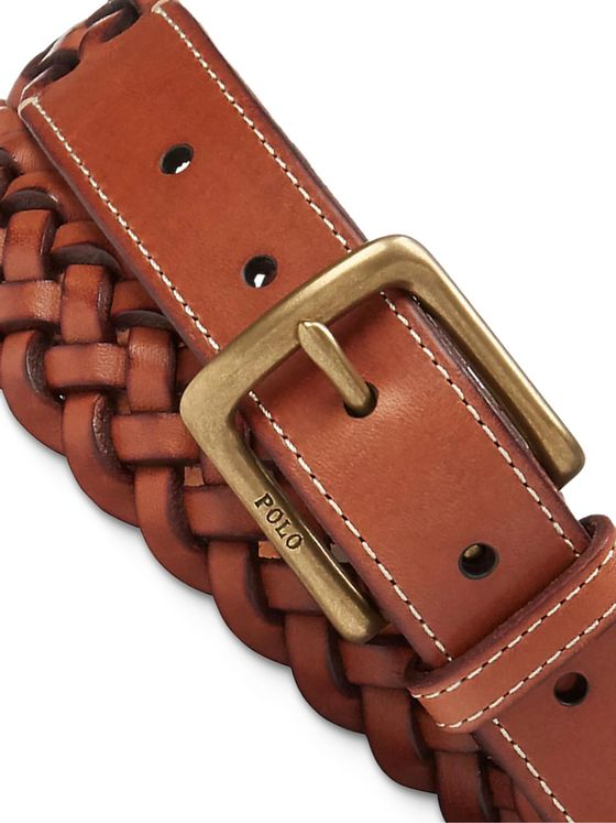 Polo Ralph Lauren Woven Leather Belt