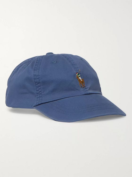 Polo Ralph Lauren Old Royal Logo-Embroidered Cotton-Twill Baseball Cap