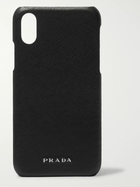 PRADA Saffiano Leather iPhone XS Case