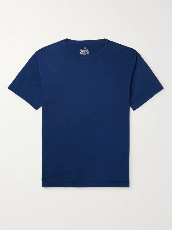 Sunspel + 45R Cotton-Jersey T-Shirt