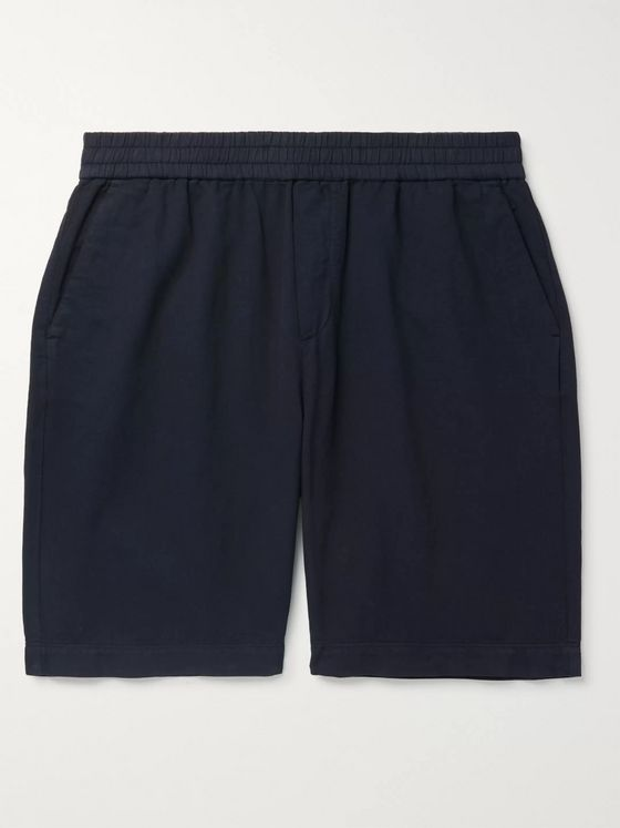 Sunspel Cotton-Twill Shorts