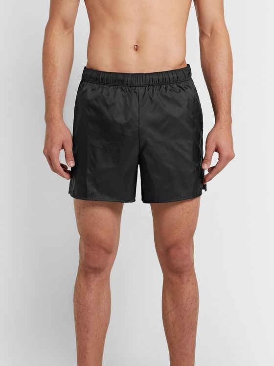 Acne Studios Slim-Fit Mid-Length Swim Shorts