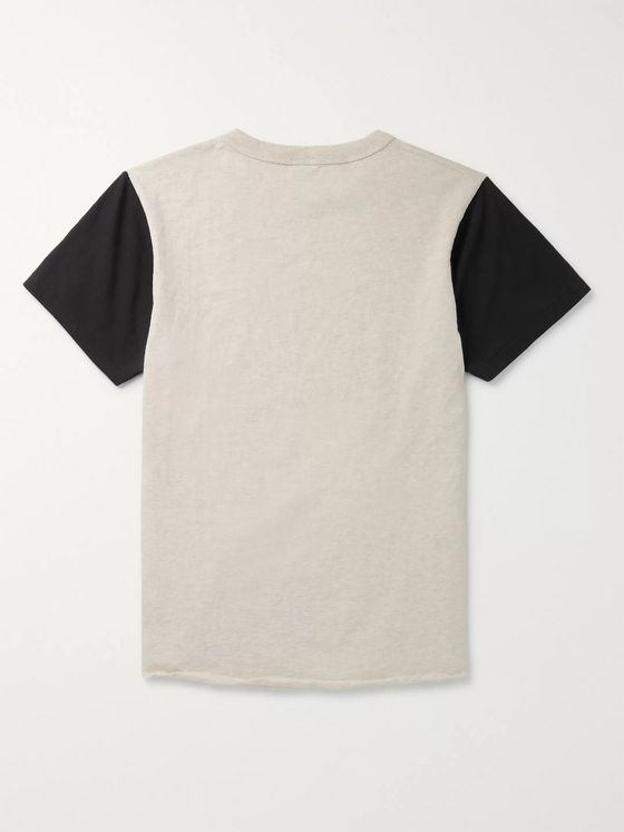 Velva Sheen Printed Cotton-Blend Jersey T-Shirt