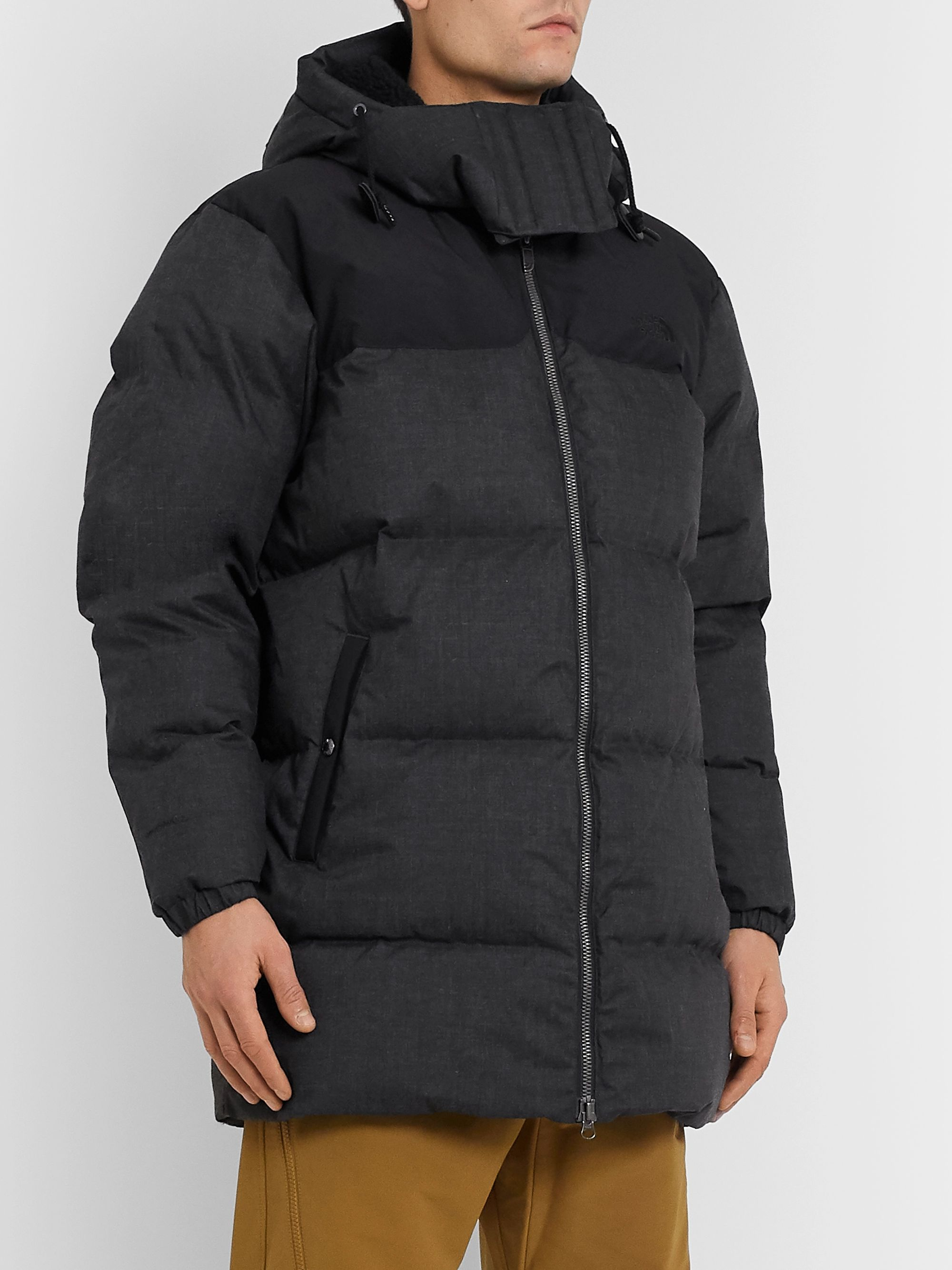 The North Face + Kazuki Kuraishi Black Series Nuptse Quilted Pertex Quantum Hooded Down Jacket