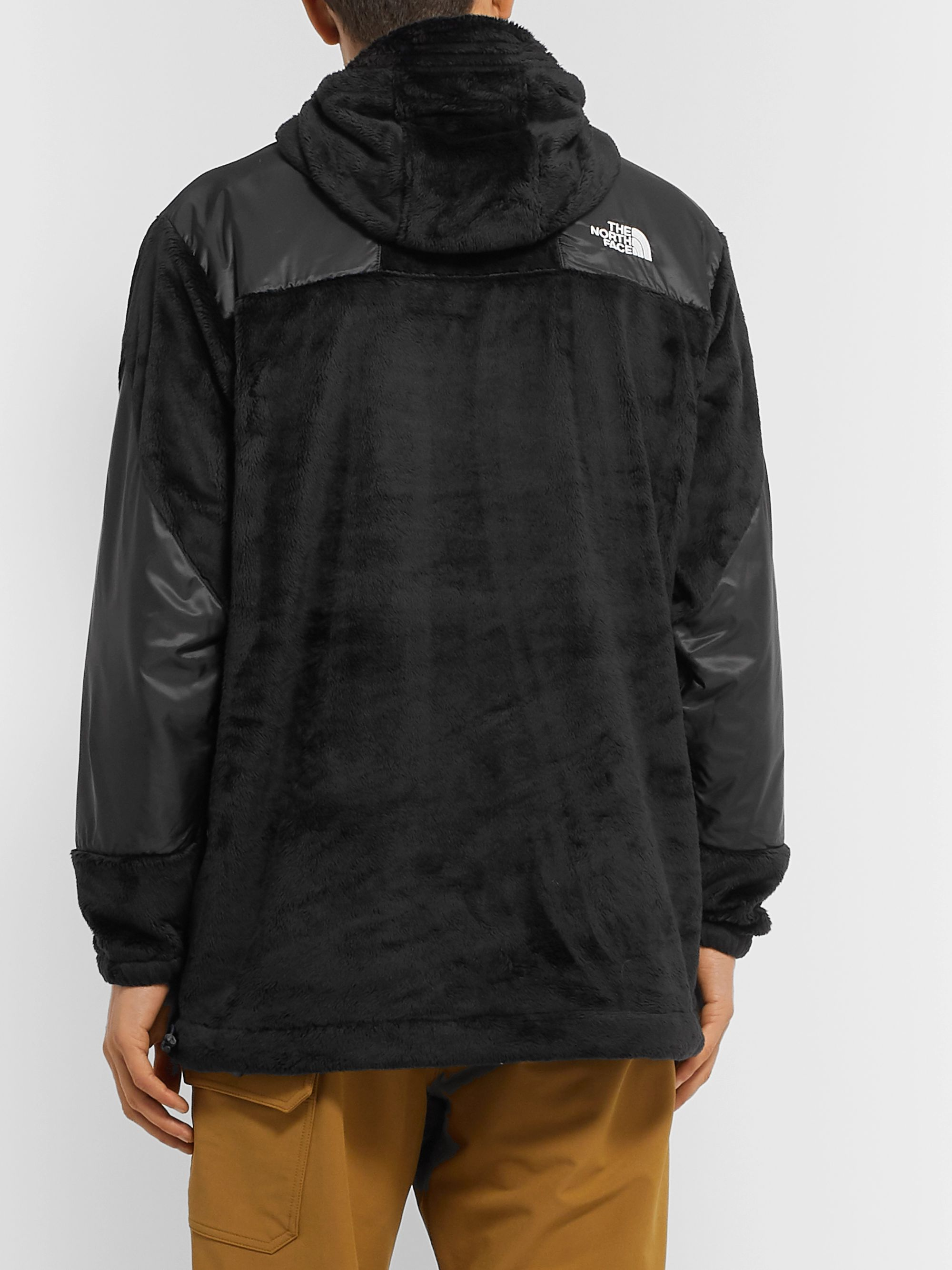 The North Face Black Series Shell-Trimmed Fleece Jacket