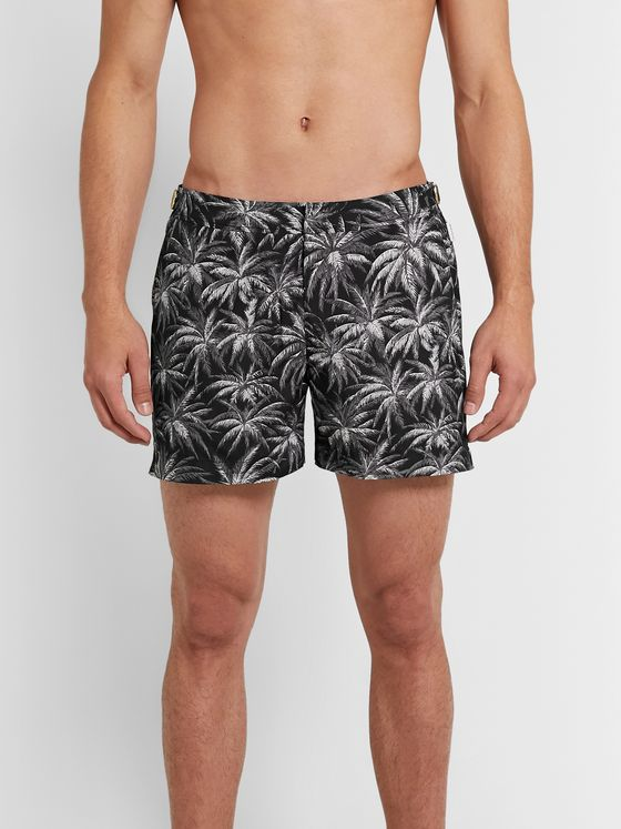 Orlebar Brown Setter X Slim-Fit Mid-Length Printed Swim Shorts