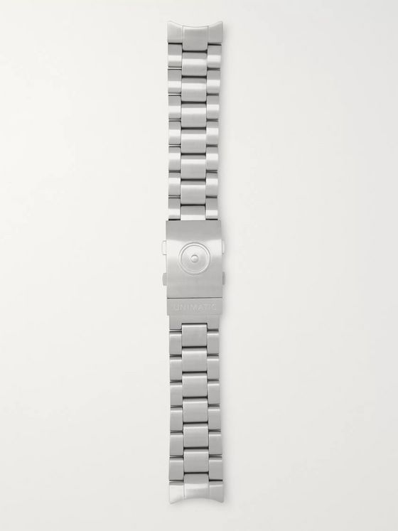 Unimatic UBK-18 Brushed Stainless Steel Watch Strap