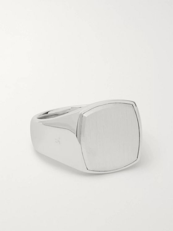 Tom Wood Cushion Sterling Silver Ring