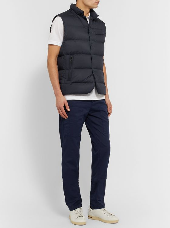 Ralph Lauren Purple Label Quilted Shell Down Gilet