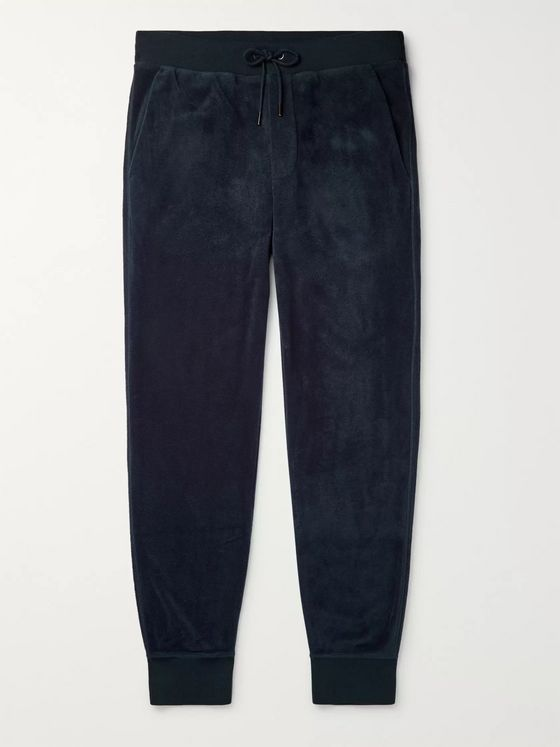 Ralph Lauren Purple Label Slim-Fit Fleece Sweatpants