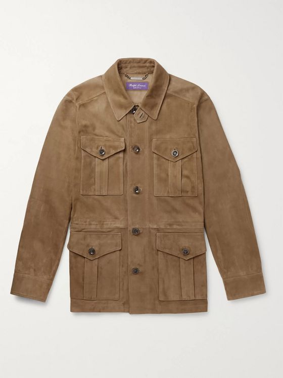 Ralph Lauren Purple Label Merton Suede Field Jacket