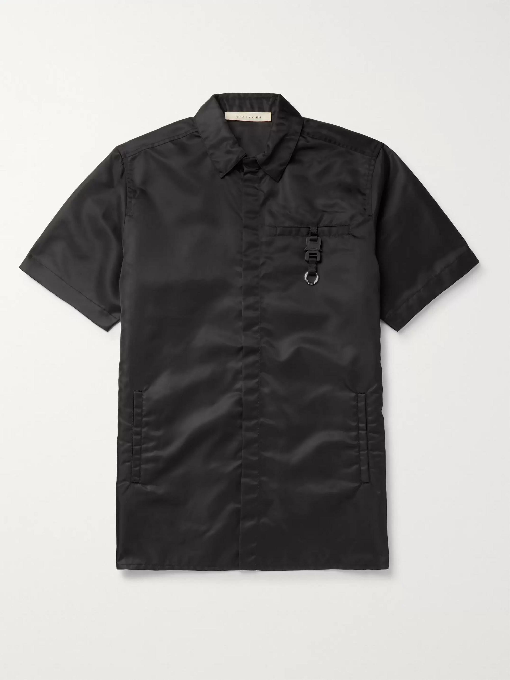 1017 ALYX 9SM Buckle-Embellished Nylon Shirt