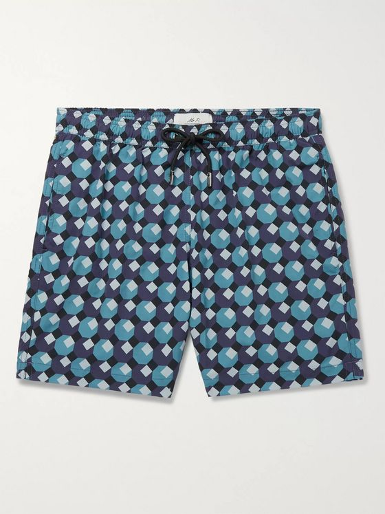 MR P. Printed Shell Swim Shorts