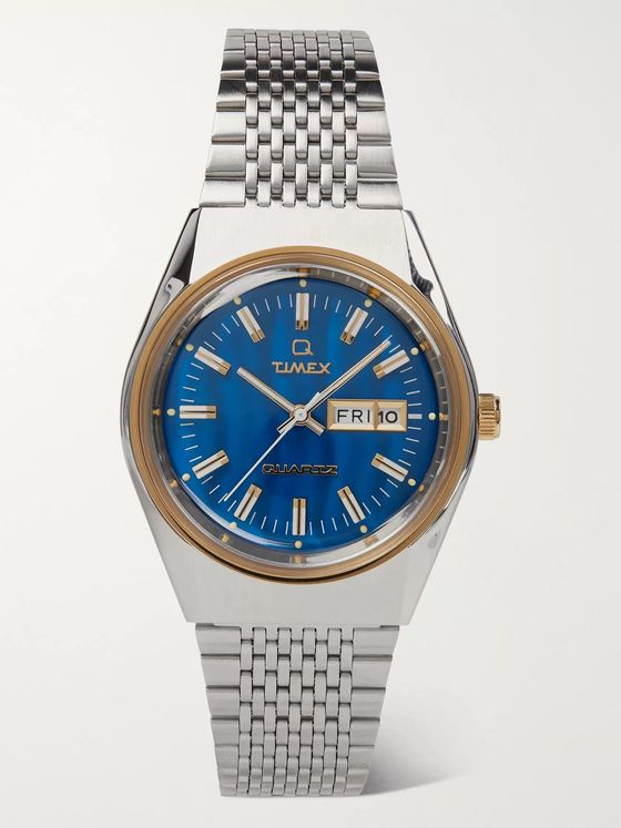 Timex Q Timex Reissue Falcon Eye 38mm Stainless Steel Watch
